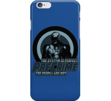Department of Precrime iPhone Case/Skin