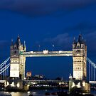 Tower Bridge  by Victoria Ashman