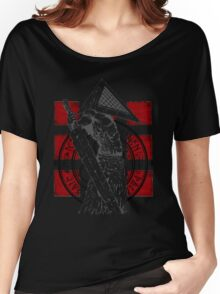 Pyramid Head Tribute (Black Background Only) Women's Relaxed Fit T-Shirt