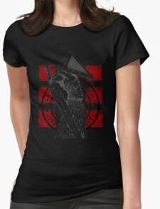 Pyramid Head Tribute (Black Background Only) Womens Fitted T-Shirt