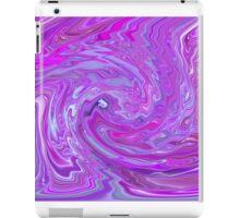 Purple Violet Lavender Swirl Unique Abstract Design iPad Case/Skin