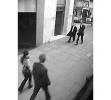 rush... rush... rush Photographic Print