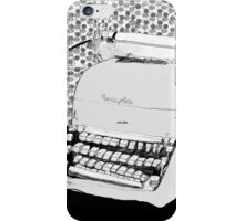 Just your Type  iPhone Case/Skin