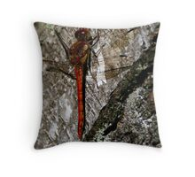 Dragonfly 3 Throw Pillow