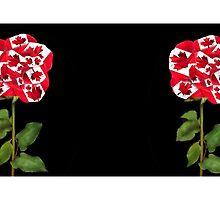 இڿڰۣ-ڰۣ— UNIQUE DESIGNED CANADIAN PATRIOTIC ROSE FLAG MUG இڿڰۣ-ڰۣ— by ✿✿ Bonita ✿✿ ђєℓℓσ
