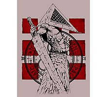 Pyramid Head Tribute Photographic Print