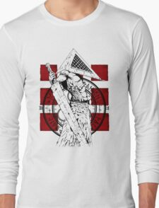 Pyramid Head Tribute Long Sleeve T-Shirt