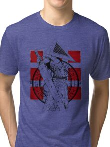 Pyramid Head Tribute Tri-blend T-Shirt