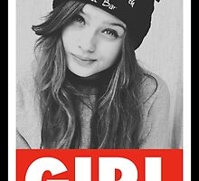 Girl obey ohboy - tshirt - poster by luigi2be