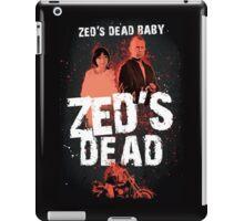Zed's Dead Baby - Pulp Fiction iPad Case/Skin