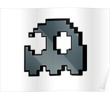 Pacman Ghost Poster