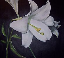White Lily by Anne Nicholson