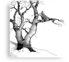 The Branch Improves the View Canvas Print