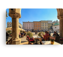 Lazy afternoon in Stare Miasto Canvas Print
