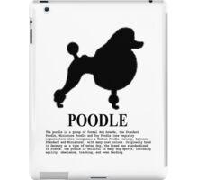 Poodle dog iPad Case/Skin