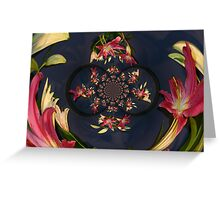 DIVERSE FACETS OF A WOMAN Greeting Card