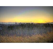 Edmonton Sunset (HDR) Photographic Print