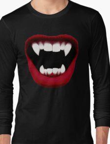Vampire Smile Long Sleeve T-Shirt