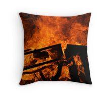 Fire Works Throw Pillow