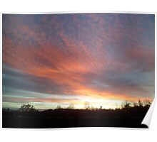 Chromatic Sky In The Morning Poster