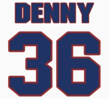 National baseball player John Denny jersey 36 by imsport