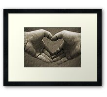 With love... Framed Print