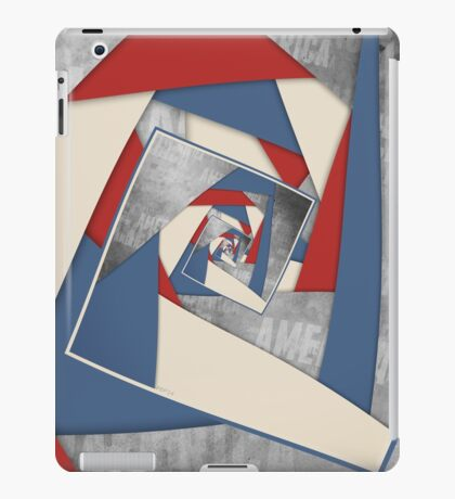 Abstract America Collage 2 iPad Case/Skin