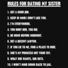 Rules For Dating My Sister by funkybreak
