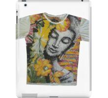yoga men t shirt Buddha Ganesha cotton iPad Case/Skin