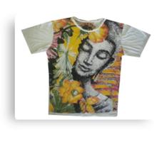 yoga men t shirt Buddha Ganesha cotton Canvas Print