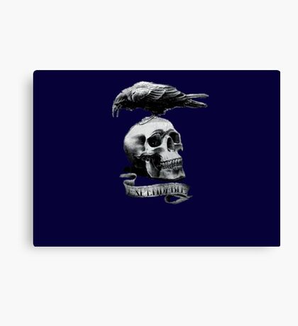Expendable Crow Canvas Print