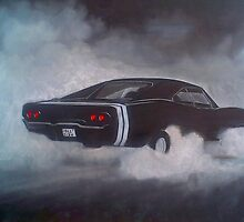 Dodge Charger Black by Andrew Howard