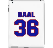 National baseball player Omar Daal jersey 36 iPad Case/Skin