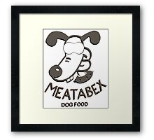 Meatabex Dog Food - Wallace and Gromit Framed Print