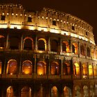 Coloseum At Night by Mary Lake
