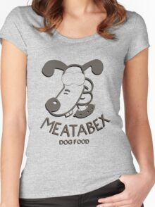 Meatabex Dog Food - Wallace and Gromit Women's Fitted Scoop T-Shirt