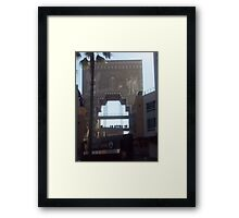 EGYPT USA Framed Print