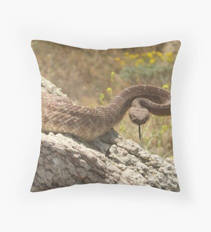 Red With Rage Throw Pillow