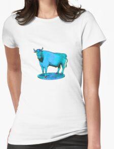 Blue bull graphic design T-Shirt