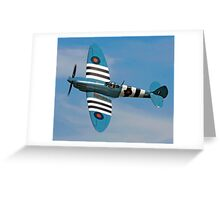 Spitfire PR.XI PL965/R G-MKXI Greeting Card