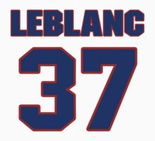 National baseball player Wade LeBlanc jersey 37 by imsport