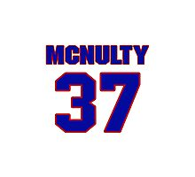 National baseball player Bill McNulty jersey 37 Photographic Print
