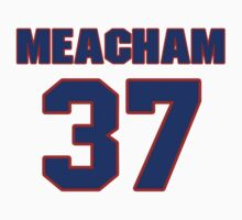 NBBS16092 baseball player Rusty Meacham jersey 37 by imsport