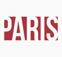 PARIS red/white by Stav B.
