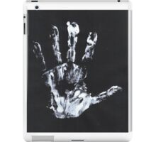 Palm print black & white iPad Case/Skin