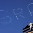 Sky Writing, Melbourne by Bee Dee