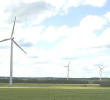Wind Turbine by Josehf Murchison