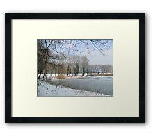 Sava Lake Framed Print