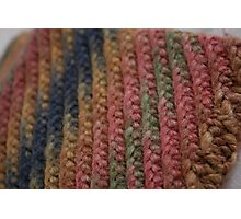 Knitted Weave Photographic Print