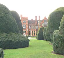Heslington Hall From The Topiary Garden. by AARDVARK